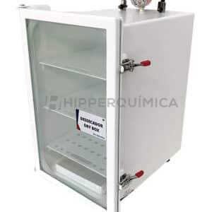 Dessecador a Vácuo Dry Box Metálico (-700mmHg)